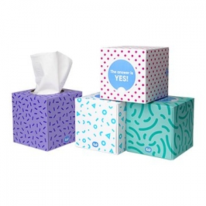Who Gives A Crap Bamboo Tissues 3ply 65 Sheets x 12