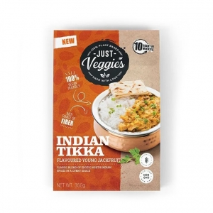 Just Veggies Young Jackfruit in Indian Tikka Sauce 350g