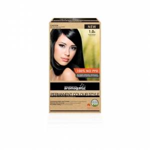 Aromaganic 1.0N Black (Natural) Hair Colour 200g