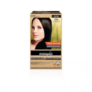 Aromaganic 3.0N Dark Brown (Natural) Hair Colour 200g