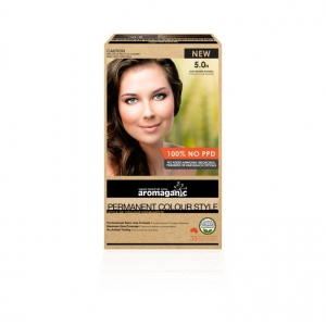 Aromaganic 5.0N Light Brown (Natural) Hair Colour 200g