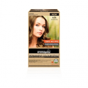 Aromaganic 6.0N Dark Blonde (Natural) Hair Colour 200g