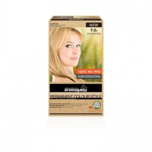 Aromaganic 9.0N Very Light Blonde (Natural) Hair Colour 200g