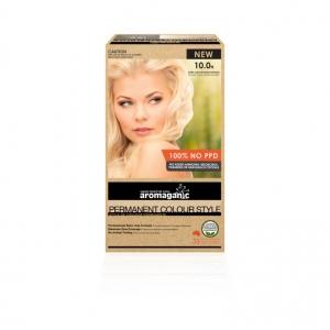 Aromaganic 10.0N Ultra Light Blonde (Natural) HairColour200g