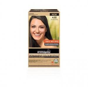 Aromaganic 4.02 Rich Cocoa Chestnut Hair Colour 200g