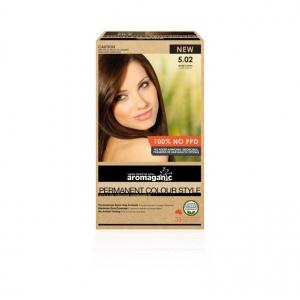 Aromaganic 5.02 Warm Coffee Hair Colour 200g
