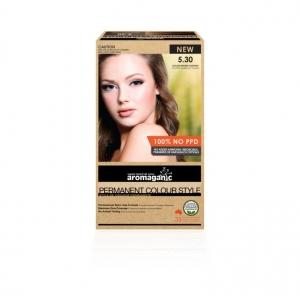 Aromaganic 5.30 Golden Brown Chestnut Hair Colour 200g