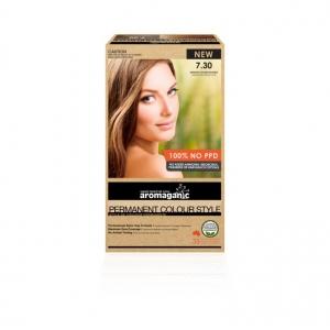 Aromaganic 7.30 Medium Golden Blonde Hair Colour 200g
