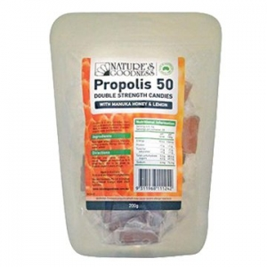 Natures Goodness Propolis Candy Honey/Lemon 200g
