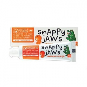 Natures Goodness Snappyjaws Kids Toothpaste Orange 75g
