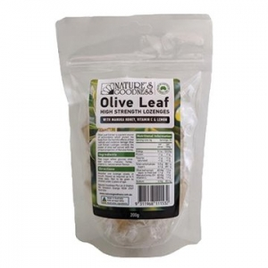 Natures Goodness Olive Leaf (Fruit Antioxidant) Lozenges 200g
