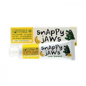Natures Goodness Snappyjaws Kids Toothpaste Cool Banana 75g