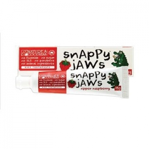 Natures Goodness Snappyjaws Kids Toothpaste Raspberry 75g