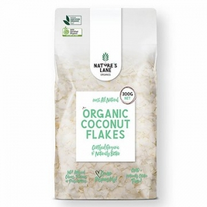 Natures Lane Organics Coconut Flakes 300g