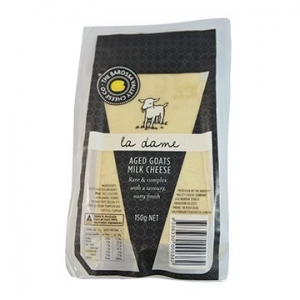 Barossa Valley La Dame Aged Goats Cheese 150g x 6