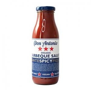 Don Antonio Organic Barbeque Sauce Spicy 400g x 8