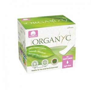 OYC Organic Ultra Thin Panty Liners (Folded) Light 24's