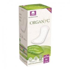 OYC Organic Panty Liners (Flat) Light 24's