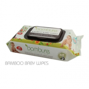 Bambure Bamboo Baby Wipes 80s