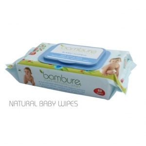 Bambure Natural Baby Wipes 80s