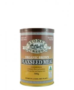 Stoney Creek Organic Flaxseed Meal Brown 500g