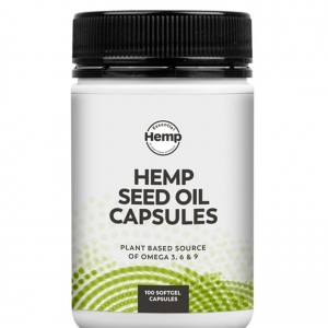 Hemp Foods Hemp Oil Capsules 100caps