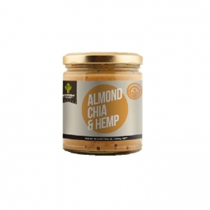 Grounded Almond Chia and Hemp Spread 250g