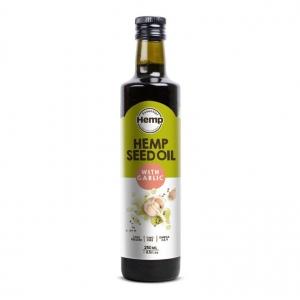 Hemp Foods Hemp Seed Oil with Garlic 250ml