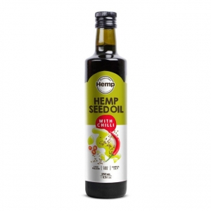 Hemp Foods Hemp Seed Oil with Chilli 250ml