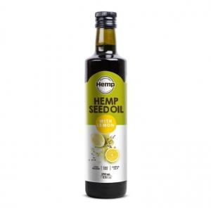 Hemp Foods Hemp Seed Oil with Lemon 250ml
