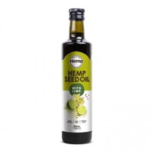 Hemp Foods Hemp Seed Oil with Lime 250ml