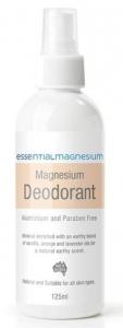 Essential Magnesium Deodorant 125ml (Orange Label)
