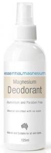 Essential Magnesium Deodorant 125ml (Beige Label)