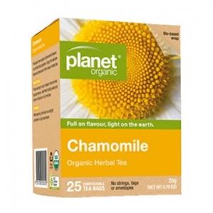 Planet Organic Chamomile 25t-bags 20g