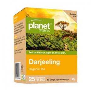 Planet Organic Darjeeling Tea 25t-bags
