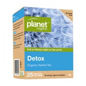 Planet Organic Detox Tea 25t-bags
