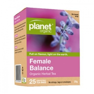 Planet Organic Female Balance Tea 25t-bags