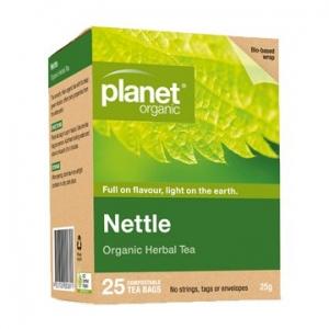 Planet Organic Nettle Tea 25t-/bags 25g