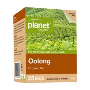Planet Organic Oolong Tea 25t-bags