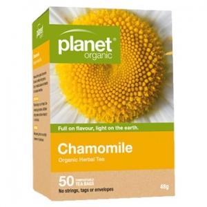 Planet Organic Chamomile 50t-bags