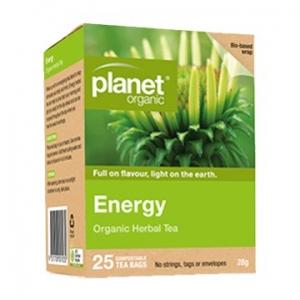 Planet Organic Energy Tea 25t-bags