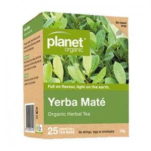 Planet Organic Yerba Mate Tea 25t-bags