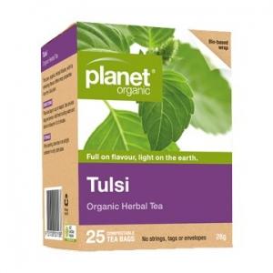 Planet Organic Tulsi Tea 25t-bags