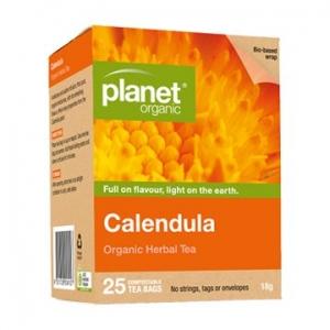 Planet Organic Calendula 25t-bags 45g