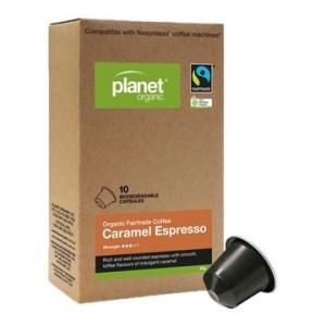 Planet Organic Caramel Espresso capsules x 10