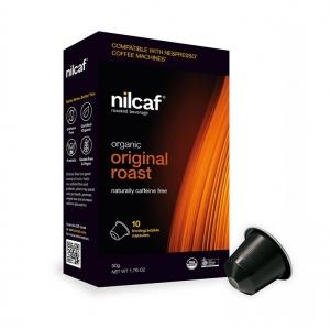 Nilcaf Caffeine Free Organic Original Roast 5g Capsules x 10