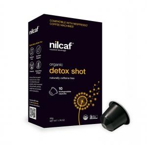 Nilcaf Caffeine Free Organic Detox Shot 5g Capsules x 10