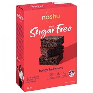Noshu Fudgy Brownie Mix 300g