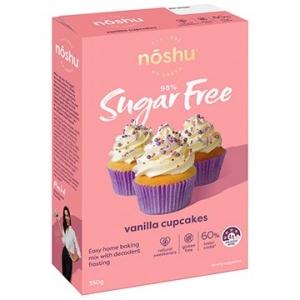 Noshu Vanilla Cupcake Mix 350g