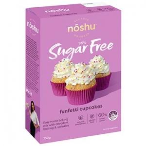 Noshu Vanilla Funfetti Cupcake Mix 350g
